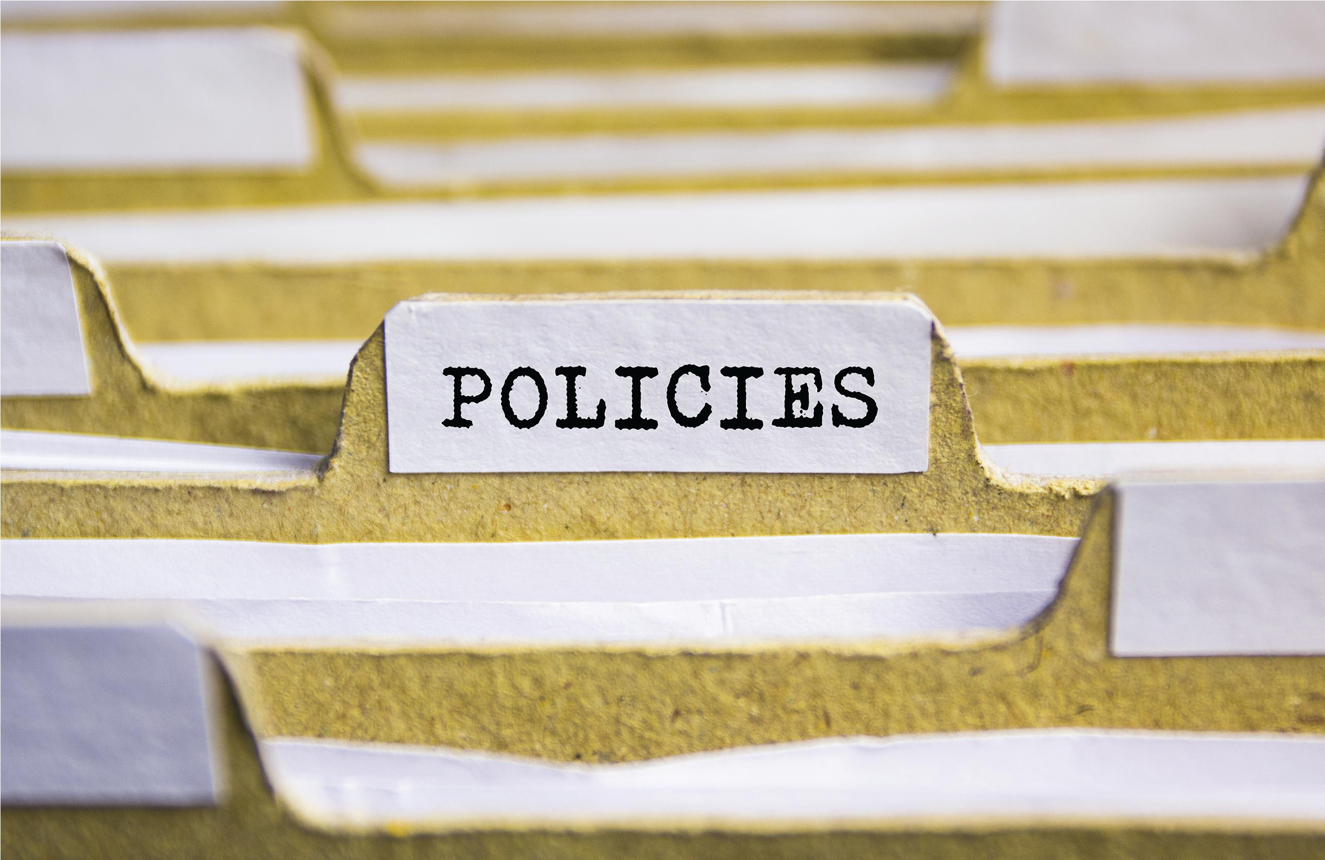 policies TSOS web link